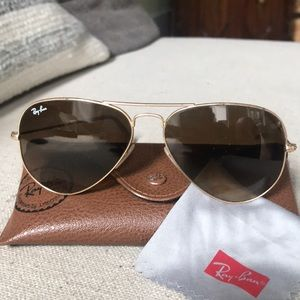 Ray bans Gold matte